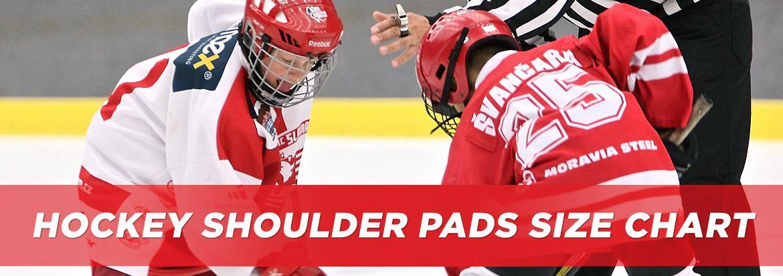 Hockey Shoulder Pad Sizing Chart Guide Hockeymonkey Com