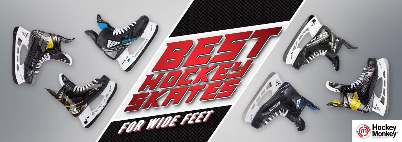 Best Hockey Skates for Wide Feet [Updated List for 2021]