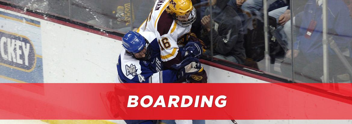 boarding in hockey
