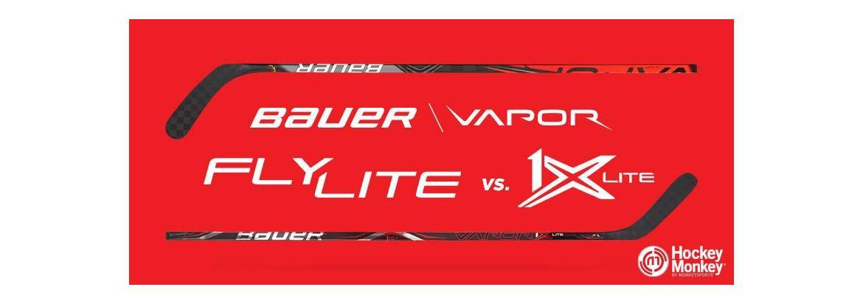 HM Versus Series: Bauer Vapor FlyLite vs. Bauer Vapor 1X Lite