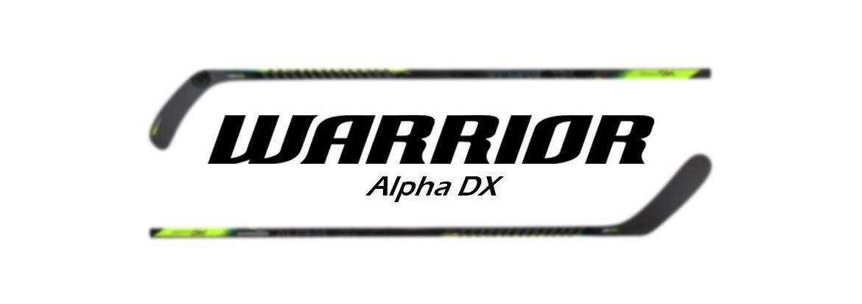 First Look: Warrior Alpha DX Hockey Stick
