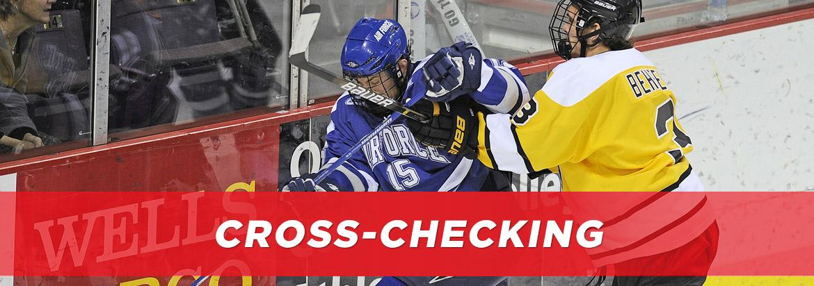 Cross-Checking in Hockey: Definition and Examples | Hockey Monkey