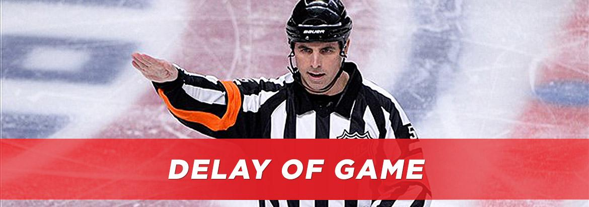 Delay of Game in Hockey: The NHL's Delay of Game Penalties