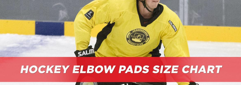Hockey Elbow Pad Sizing Chart & Guide | HockeyMonkey