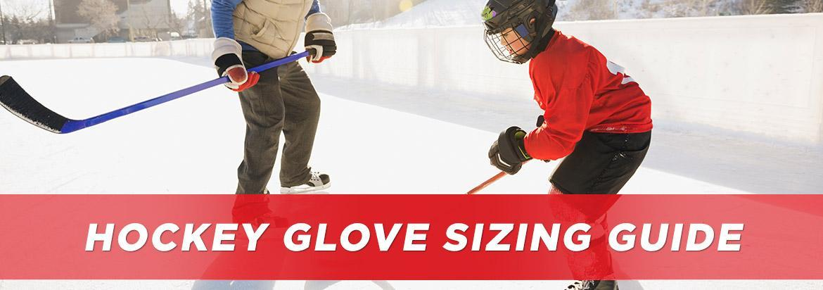 hockey glove sizing guide