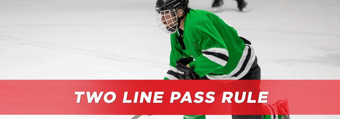 two line pass rule in hockey