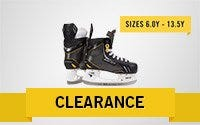 Youth Clearance Ice Hockey Skates