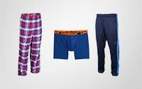Sweatpants, Boxers & PJs