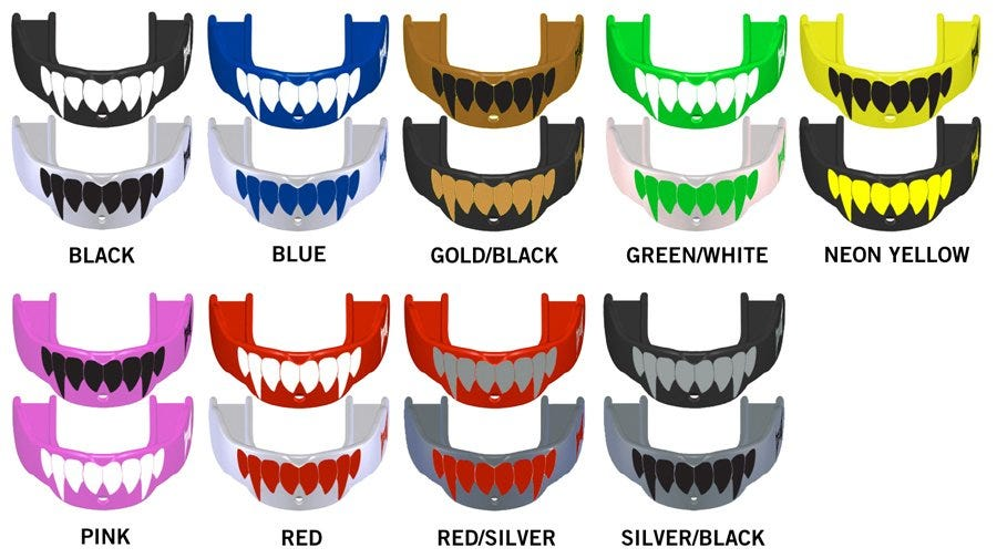 Battle Sports Fang Mouthguard (2 Pack)