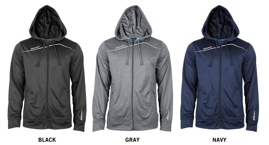 Bauer Premium Team Yth. Full Zip Hoody