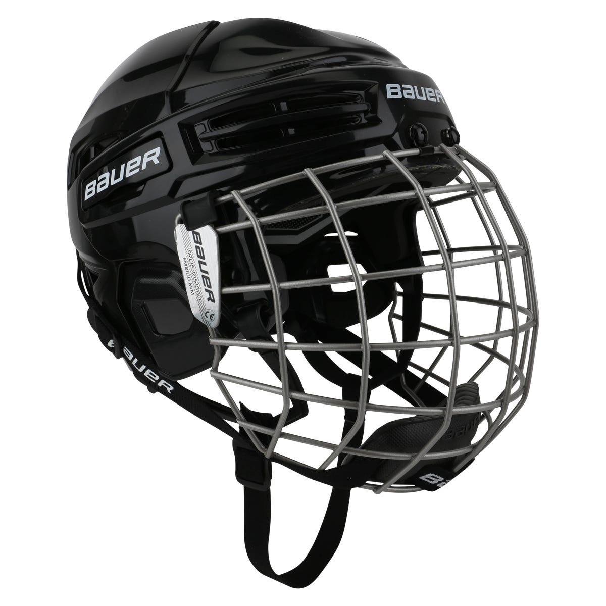 c57b9d4c SKU-MS1326021 Bauer IMS 5.0 Hockey Helmet Combo from Hockey Monkey