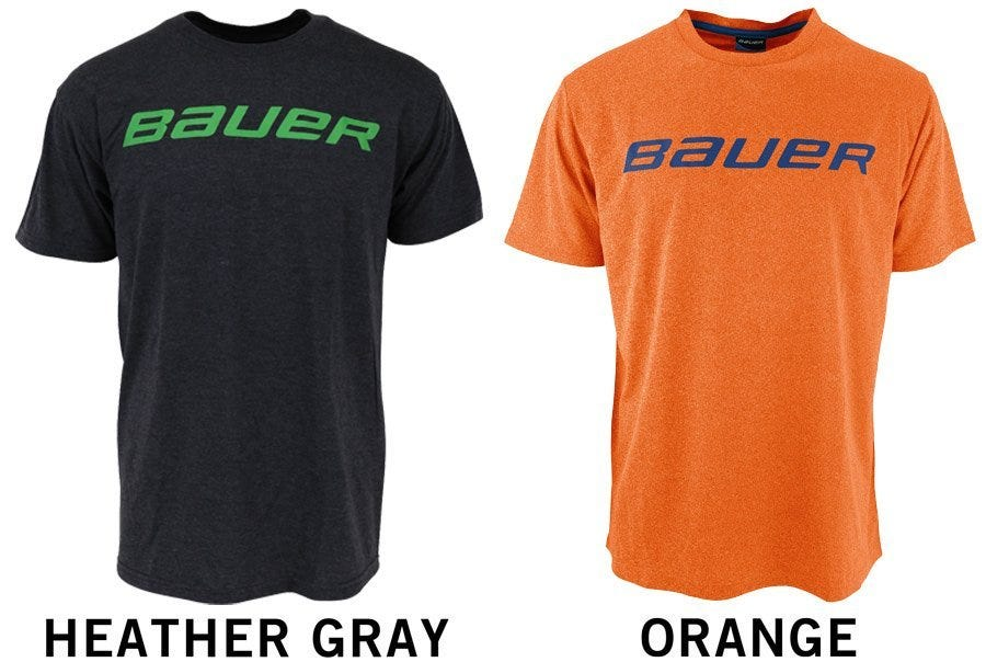 Bauer Basic Sr. Short Sleeve Shirt - Orange