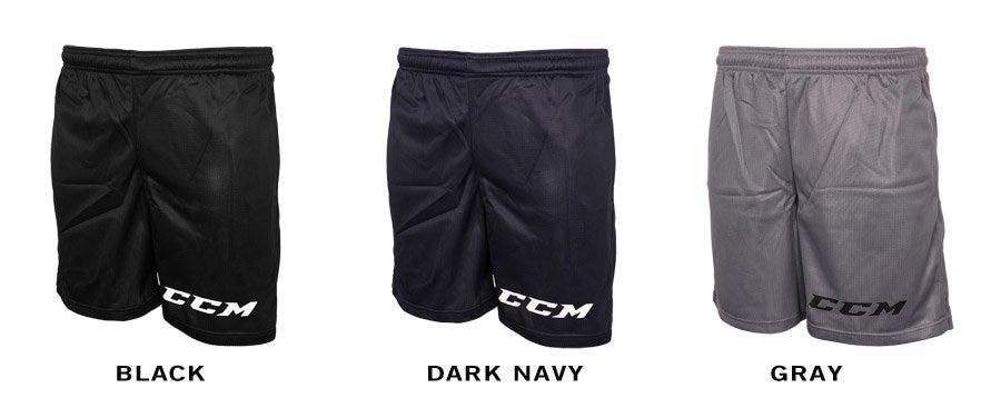 CCM 7128 Team Mesh Sr. Shorts