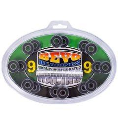 Bevo Gold 9 Race Rated Chrome Bearings (608)