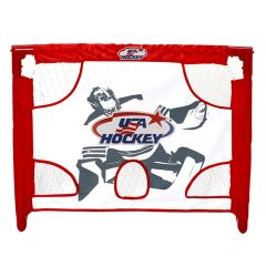 USA Hockey Collapsible PVC 28in. Mini Net Set
