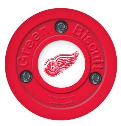 Detroit Red Wings Green Biscuit Training Puck