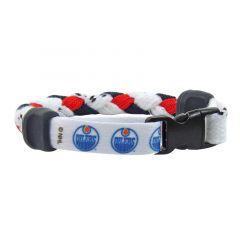 Swanny's Edmonton Oilers Skate Lace Bracelet