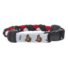 Swanny's Ottawa Senators Skate Lace Bracelet