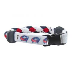 Swanny's Columbus Blue Jackets Skate Lace Bracelet