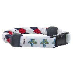 Swanny's Florida Panthers Skate Lace Bracelet