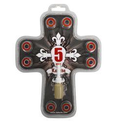 Labeda Cross Abec-5 Bearings (608)