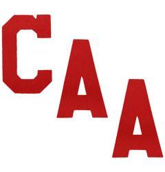 A&R Hockey Captain Letters