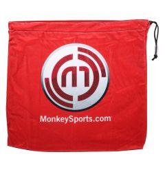 A&R Velour Hockey Helmet Bag w/Monkey Logo