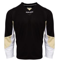 Bauer 800 Series Senior Hockey Jersey - Black/Penguin Gold/White
