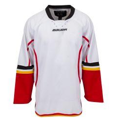 Bauer 800 Series Senior Hockey Jersey - White/Gold/Red