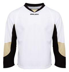 Bauer 800 Series Senior Hockey Jersey - White/Penguin Gold/Black