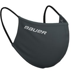 Bauer Reversible Fabric Face Mask - Charcoal