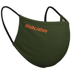 Bauer Reversible Fabric Face Mask - Green/Camo