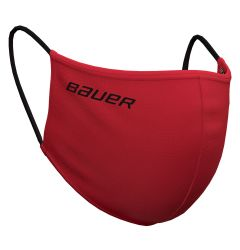 Bauer Reversible Fabric Face Mask - Red/Bauer