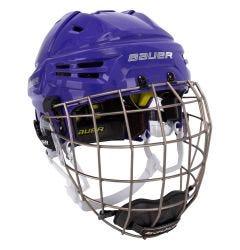 Los Angeles Jr. Kings Bauer Re-Akt Hockey Helmet Combo