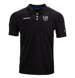 Bauer Los Angeles Jr. Kings Core Training Poly Youth Short Sleeve Polo Shirt