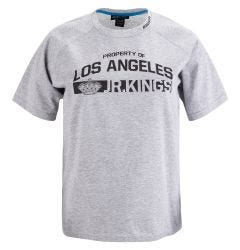 Bauer Los Angeles Jr. Kings Team Tech Youth Short Sleeve Tee Shirt