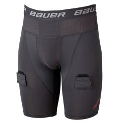 Bauer Pro Comfort Lock Senior Hockey Jock Shorts