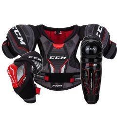 CCM Jetspeed FT1 LE Youth Hockey Equipment Bundle
