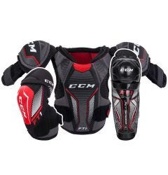 CCM Jetspeed FT1 Youth Hockey Equipment Bundle