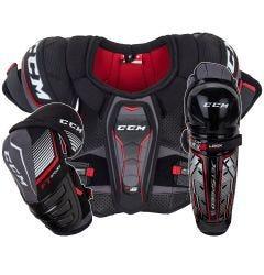CCM JetSpeed FT370 LE Senior Hockey Equipment Bundle