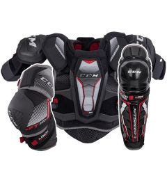 CCM JetSpeed FT390 Junior Hockey Equipment Bundle