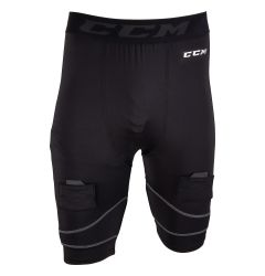 CCM Compression Pro Senior Jock Shorts w/Cup