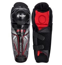 CCM Jetspeed FT1 Youth Hockey Shin Guards
