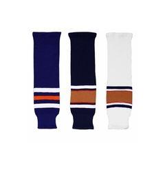 CCM S100 Edmonton Oilers Knit Hockey Socks