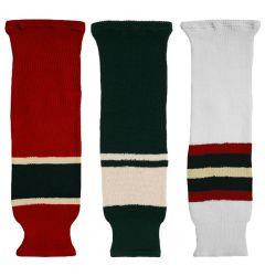 CCM S100 Minnesota Wild Knit Hockey Socks