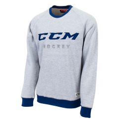 CCM Authenticity Fleece Adult Crew Neck Sweatshirt