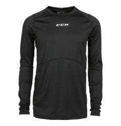 CCM Compression Top Grip Junior Long Sleeve Shirt