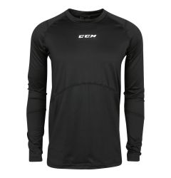 CCM Compression Top Junior Long Sleeve Shirt