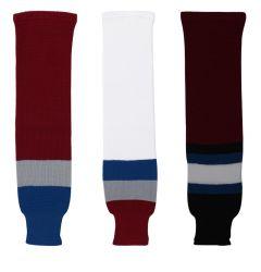 Colorado Avalanche Dogree Knit Hockey Socks