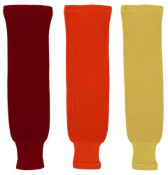 Dogree Solid Color Knit Hockey Socks